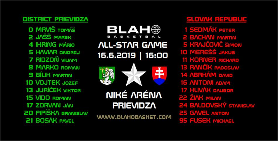 16:00, Zápas č.5 z BB ASW 2019 (Niké Aréna, Prievidza/Hlavný zápas BB ASW 2019):