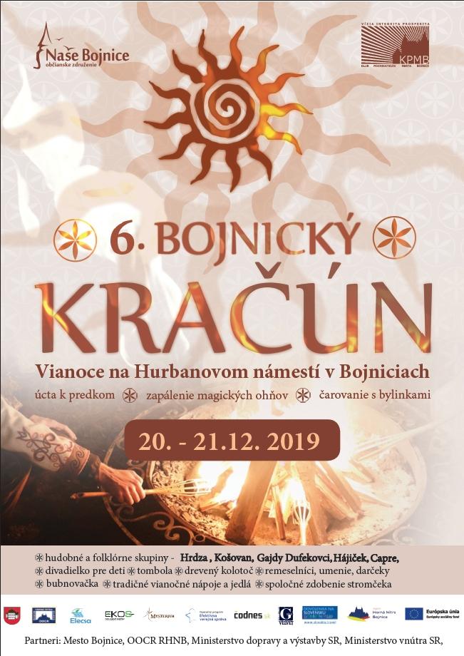 Bojnický Kračún 2019 - 6. ročník - plagát