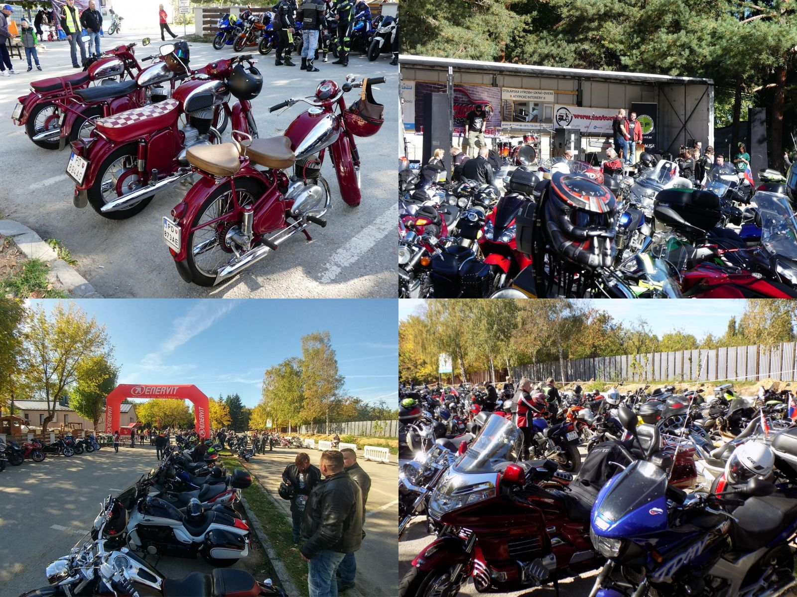 Foto a video: Ukončenie Moto-sezóny Prievidza Bojnice 2018