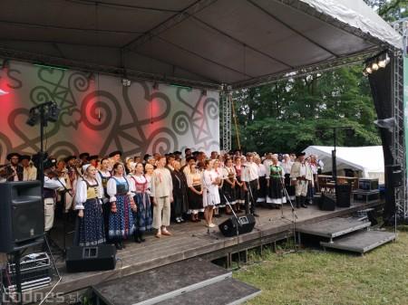 Foto a video: Hornonitrianske folklórne slávnosti 2018 - Prievidza 12