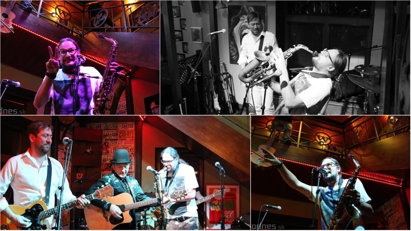 Foto: Blues Funk Show - Gapa & Mečiar Blues Connection