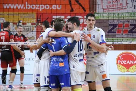 Foto: VK Prievidza - VK MIRAD PU Prešov 3:1 - postup do finále 2
