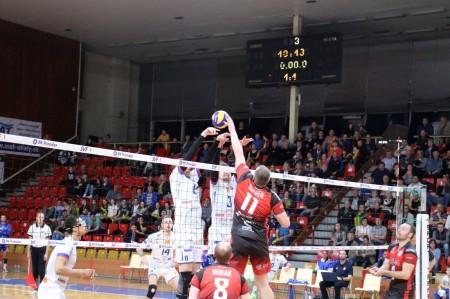 Foto: VK Prievidza - VK MIRAD PU Prešov 3:1 - postup do finále 13