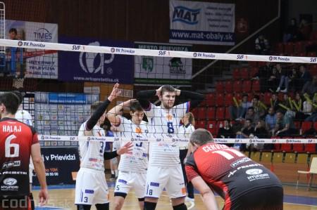Foto: VK Prievidza - VK MIRAD PU Prešov 3:1 - postup do finále 14