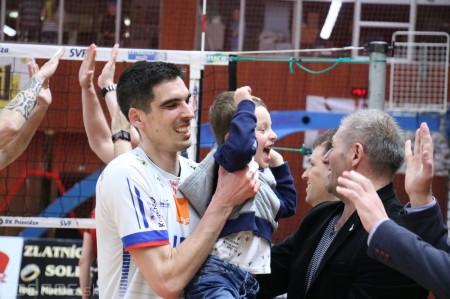 Foto: VK Prievidza - VK MIRAD PU Prešov 3:1 - postup do finále 39