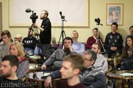 Foto a video: Stretnutie podnikavcov v Prievidzi - hosť Michal Truban 16