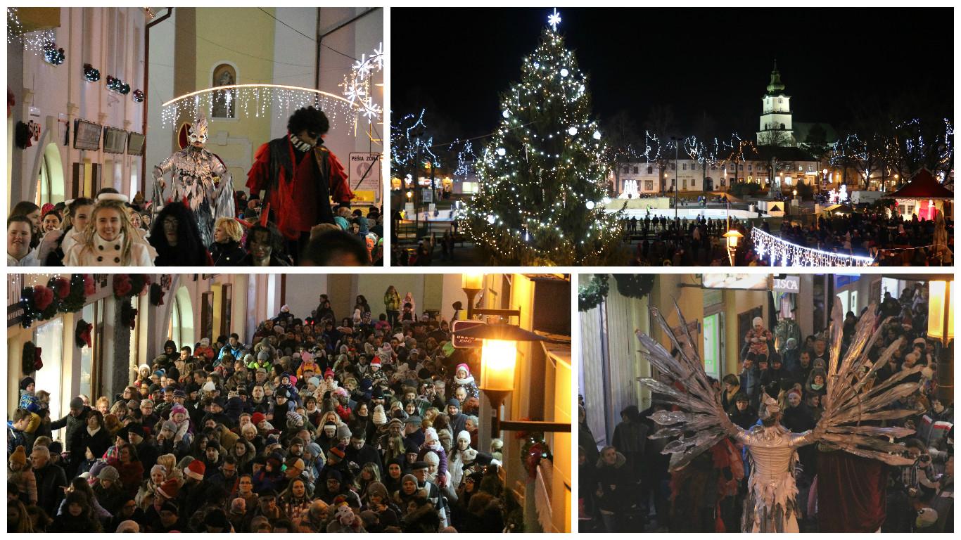 Foto: Mikulášsky sprievod a rozsvietenie vianočného stromčeka 2016