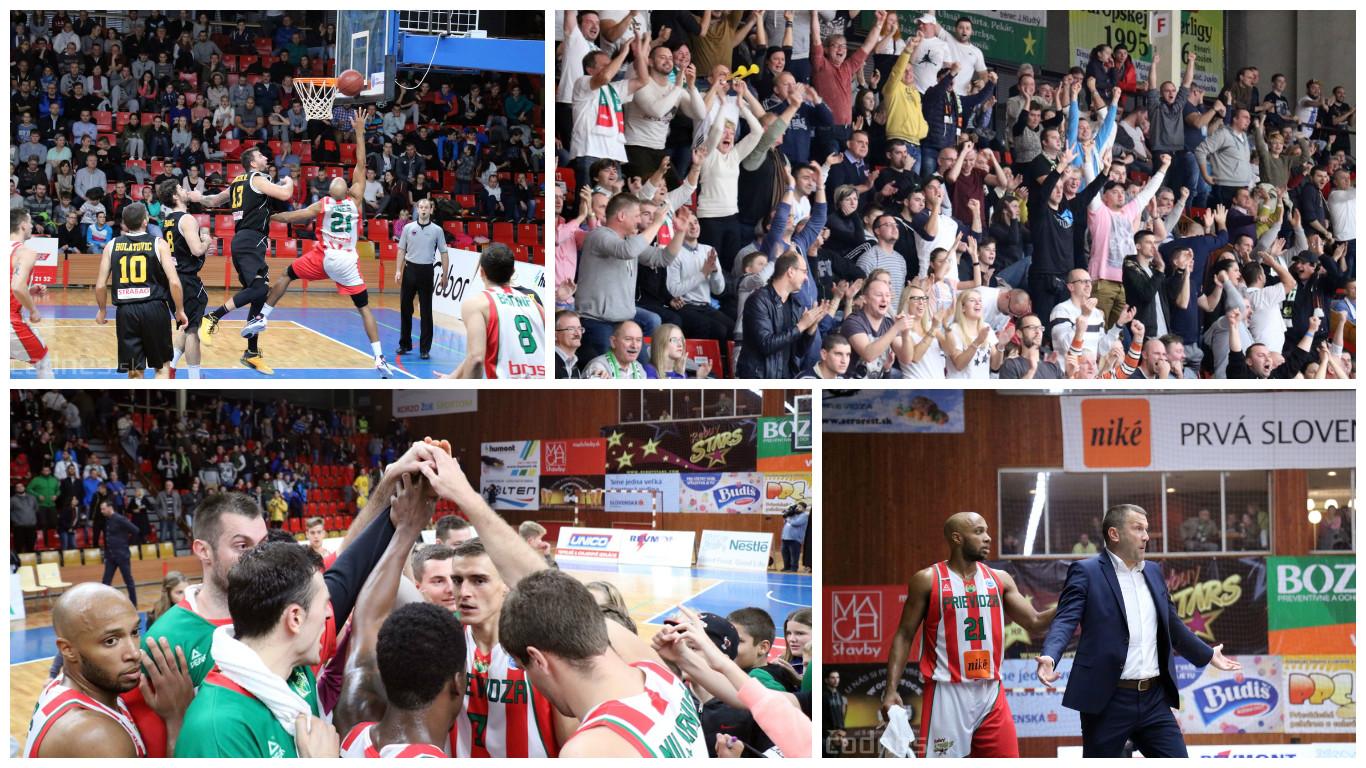 Foto: BC Prievidza - BK Inter Bratislava 73:65