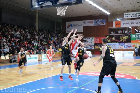 Foto: BC Prievidza - BK Inter Bratislava 73:65 2
