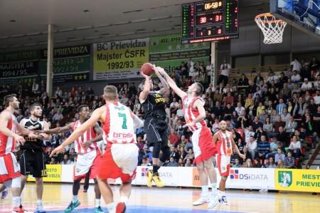 Foto: BC Prievidza - BK Inter Bratislava 73:65 31