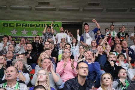 Foto: BC Prievidza - BK Inter Bratislava 73:65 45