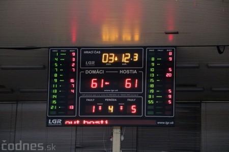 Foto: BC Prievidza - BK Inter Bratislava 73:65 50