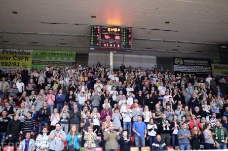 Foto: BC Prievidza - BK Inter Bratislava 73:65 66