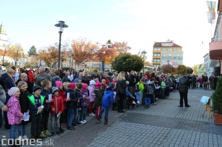 Foto a video: Prezident Andrej Kiska na návšteve Prievidze 1