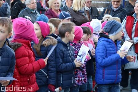 Foto a video: Prezident Andrej Kiska na návšteve Prievidze 2