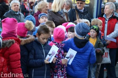 Foto a video: Prezident Andrej Kiska na návšteve Prievidze 4