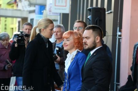 Foto a video: Prezident Andrej Kiska na návšteve Prievidze 8