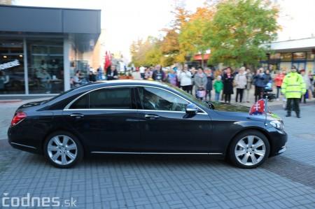 Foto a video: Prezident Andrej Kiska na návšteve Prievidze 10