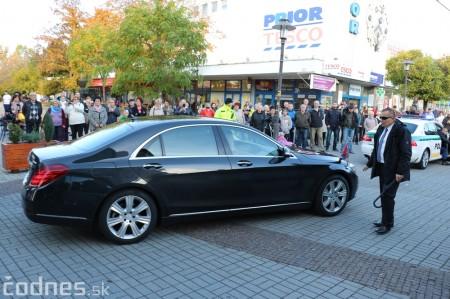 Foto a video: Prezident Andrej Kiska na návšteve Prievidze 11