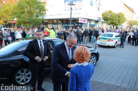 Foto a video: Prezident Andrej Kiska na návšteve Prievidze 12