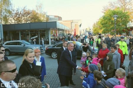 Foto a video: Prezident Andrej Kiska na návšteve Prievidze 15