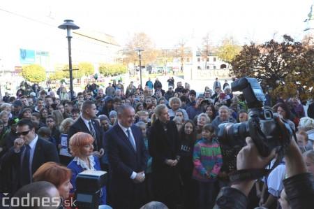 Foto a video: Prezident Andrej Kiska na návšteve Prievidze 20