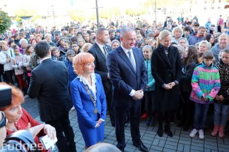Foto a video: Prezident Andrej Kiska na návšteve Prievidze 21