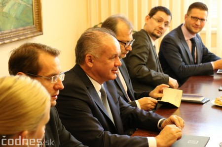 Foto a video: Prezident Andrej Kiska na návšteve Prievidze 26