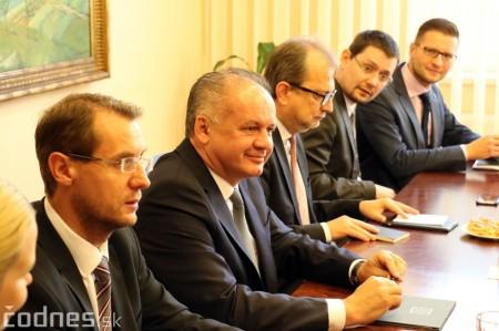 Foto a video: Prezident Andrej Kiska na návšteve Prievidze 27