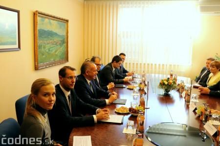 Foto a video: Prezident Andrej Kiska na návšteve Prievidze 28