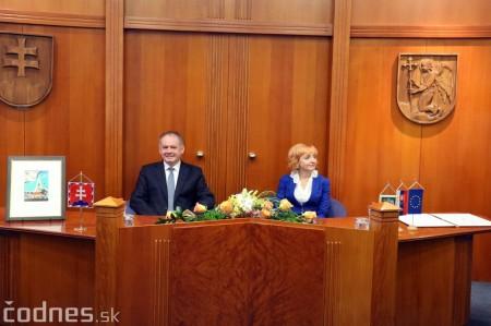Foto a video: Prezident Andrej Kiska na návšteve Prievidze 29