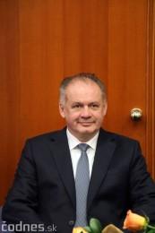 Foto a video: Prezident Andrej Kiska na návšteve Prievidze 31