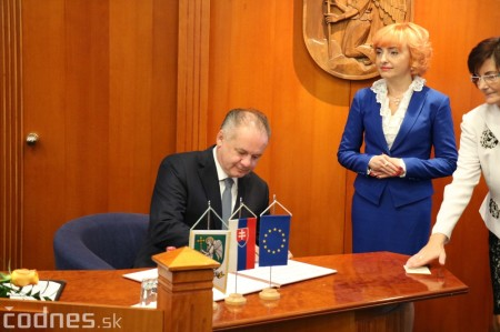 Foto a video: Prezident Andrej Kiska na návšteve Prievidze 34