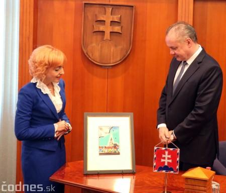 Foto a video: Prezident Andrej Kiska na návšteve Prievidze 37