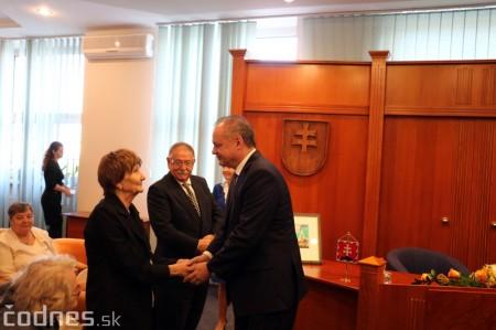 Foto a video: Prezident Andrej Kiska na návšteve Prievidze 40