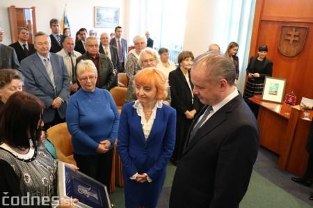 Foto a video: Prezident Andrej Kiska na návšteve Prievidze 42