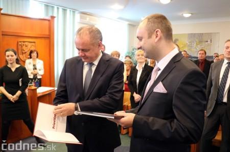 Foto a video: Prezident Andrej Kiska na návšteve Prievidze 44