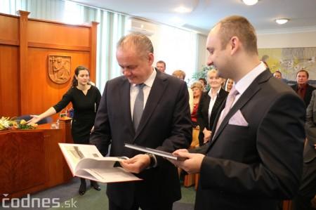 Foto a video: Prezident Andrej Kiska na návšteve Prievidze 45