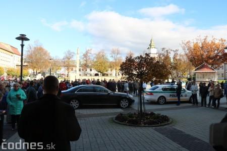 Foto a video: Prezident Andrej Kiska na návšteve Prievidze 46