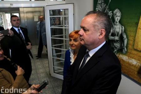 Foto a video: Prezident Andrej Kiska na návšteve Prievidze 47