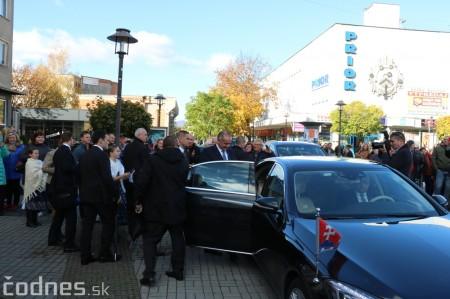 Foto a video: Prezident Andrej Kiska na návšteve Prievidze 50