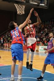 Foto: BC Prievidza - Steaua CSM Bukurešť 78:69 20
