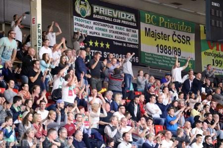 Foto: BC Prievidza - Steaua CSM Bukurešť 78:69 22