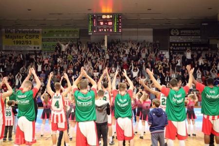 Foto: BC Prievidza - Steaua CSM Bukurešť 78:69 34
