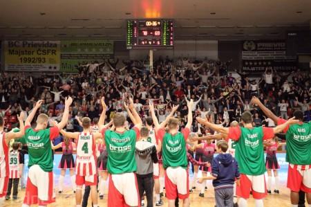 Foto: BC Prievidza - Steaua CSM Bukurešť 78:69 35