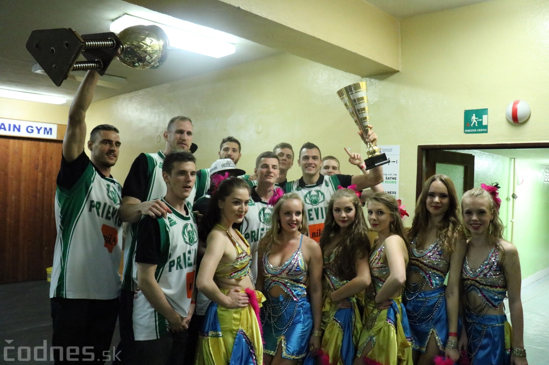 Foto: Majstrovské oslavy BC Prievidza 2016