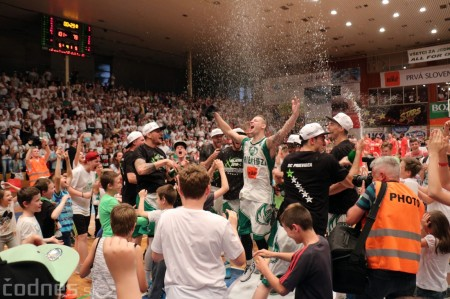 Foto: BC Prievidza novým majstrom SBL, získali sme šiesty titul 71