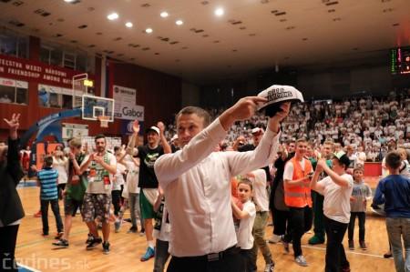 Foto: BC Prievidza novým majstrom SBL, získali sme šiesty titul 75
