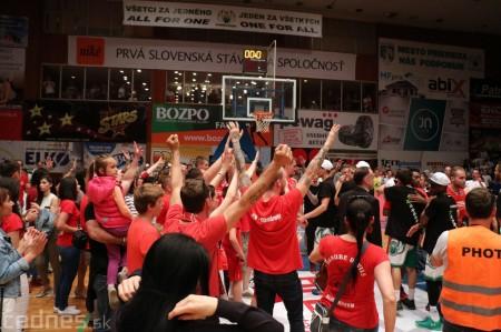 Foto: BC Prievidza novým majstrom SBL, získali sme šiesty titul 79