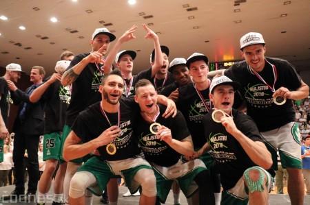 Foto: BC Prievidza novým majstrom SBL, získali sme šiesty titul 84